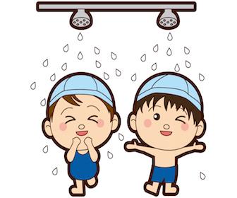 喘息患者さんのプールでの注意点について