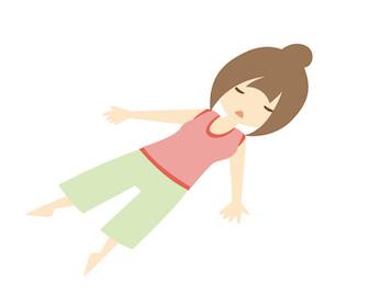 喘息と腹式呼吸の関係について