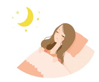 喘息の楽な寝方について