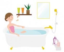 喘息患者さんの入浴について