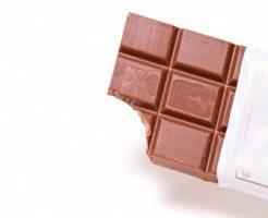 寝る前のチョコレートについて