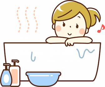 寝る前のお風呂について