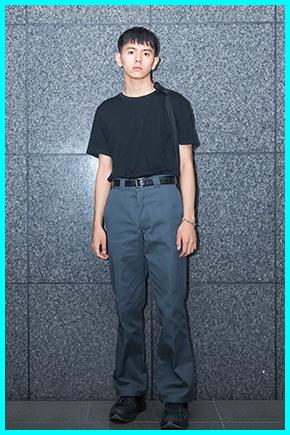 井上翔太(メンズノンノモデル)の私服