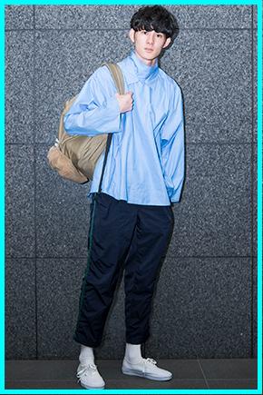 高見翔太(メンズノンノモデル)の私服