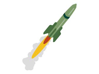 北ミサイル