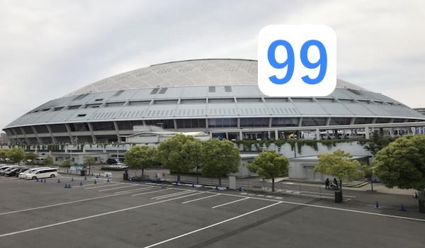 ナゴヤドームと松坂大輔の背番号