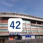 神宮球場と坂口智隆の背番号